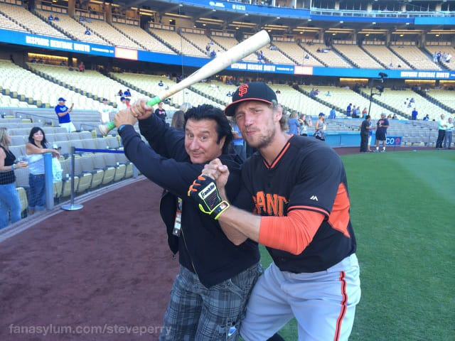 Steve Perry and Hunter Pence