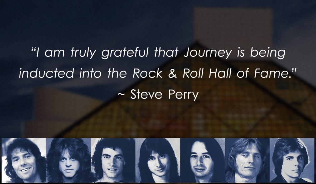 Steve perry fan asylum i am truly grateful that journey is being inducted into the rock roll hall kristyandbryce Images